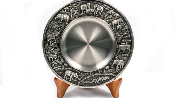 Royal Thai Pewter Souvenir