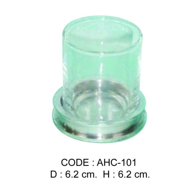 Code: AHC-101 D 6.2 cm. H 6.2 cm.